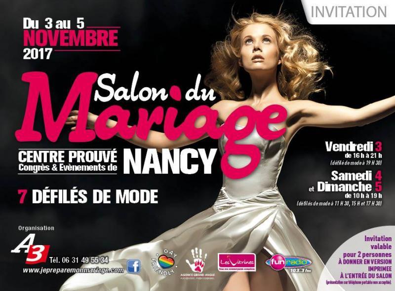 Salon du mariage 2017 Nancy