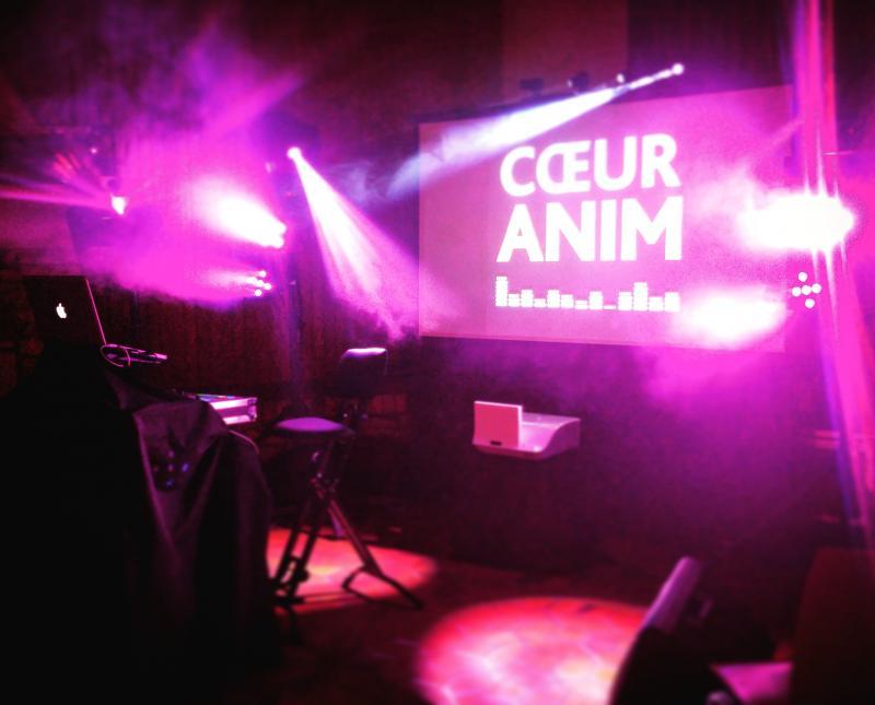 Aniamtion DJ Coeuranim